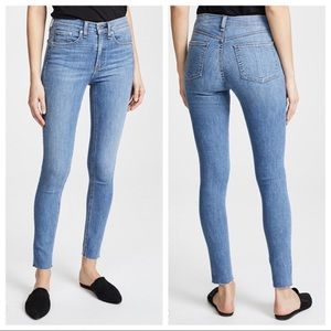 Rag and bone high rise skinny jeans size 25